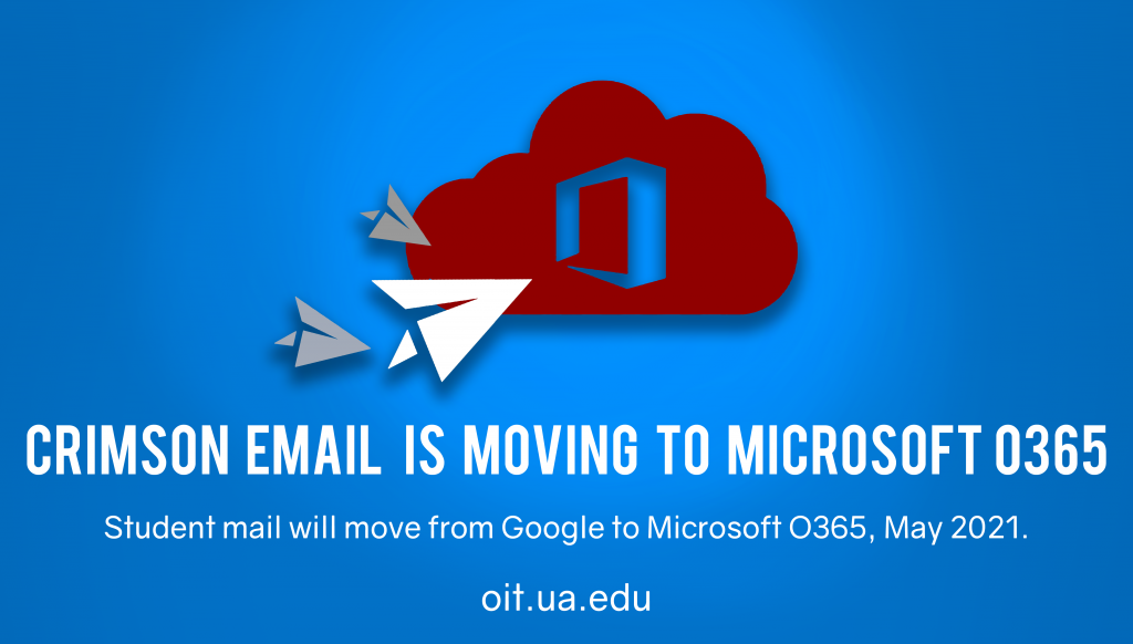Crimson email is moving to microsoft o365