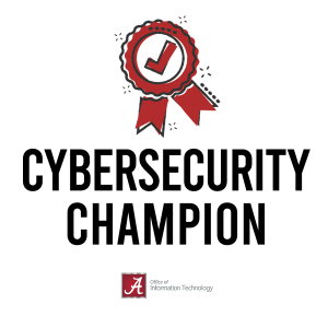 cybersecurity champion